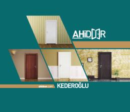 katalog - AHİDOOR
