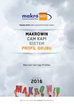 Cam Kapı - Makro Win