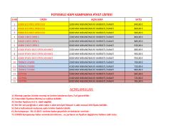 fotoselli kapı fiyat listesi
