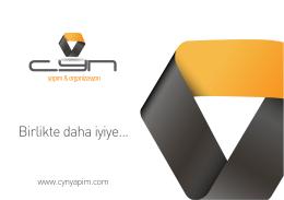 CYN SUNUM - cyn yapım & organizasyon