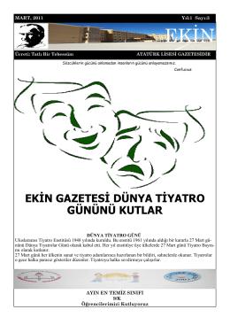 EKİN EKİN - NUSAYBİN - Atatürk Mesleki ve Teknik Anadolu Lisesi