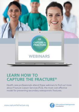 LEARN HOW TO CAPTURE THE FRACTURE®