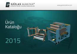 Katalog - Gülas Makina