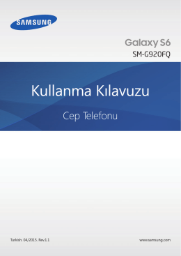 MOD - Galaxy S6 Manual User Guide