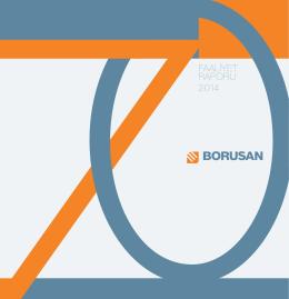 PDF olarak indir - Borusan Yatırım