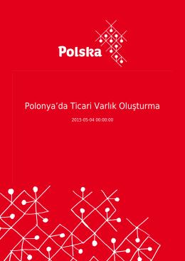 Polonya`da Ticari Varlık Oluşturma