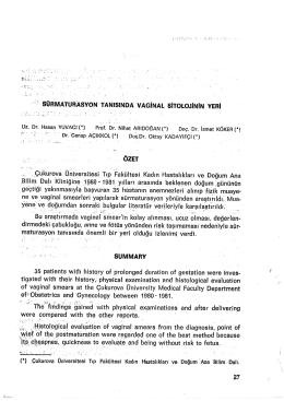 27-38 - Zeynep Kamil Tıp Bülteni