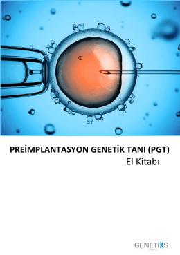El Kitabı - Preimplantasyon Genetik Tanı (PGT)