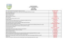 2015-2016 Güz Yaryılı Lisans Önlisans Akademik Takvimi