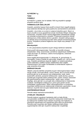 ALFASİLİN® 1 g