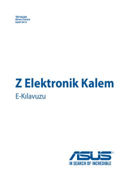 Z Elektronik Kalem