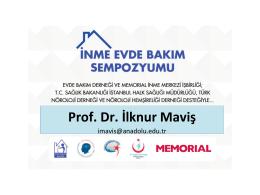Prof. Dr. İlknur Maviş