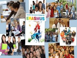 2014-2015 Akademik yılı Erasmus +