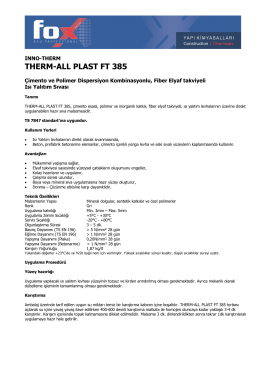 THERM-ALL PLAST FT 385