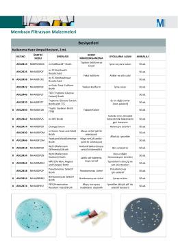 mıllıpore - Aktif Kimya