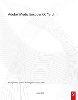 Media Encoder - Adobe Support