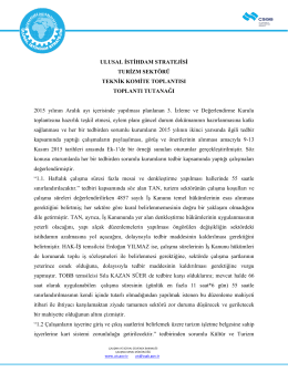 3.İDK Teknik Komite Toplantısı (13.11.2015)