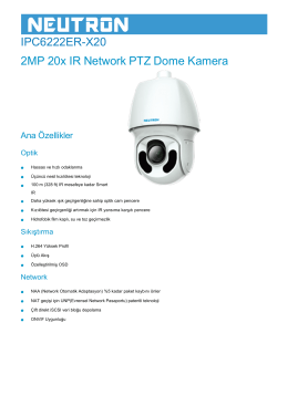 IPC6222ER-X20 2MP 20x IR Network PTZ Dome Kamera