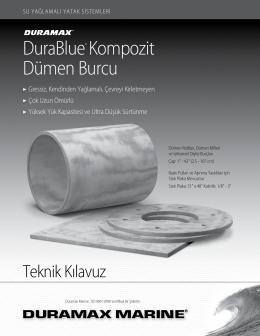 DuraBlue® Kompozit Dümen Burcu