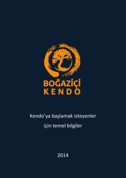 Kendo`ya başlamak isteyenler için temel bilgiler