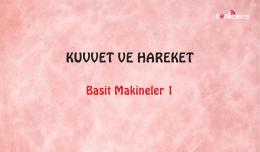 KUVVET VE HAREKET - canliakademi.com