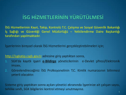 iş güvenliği görevlendirmeleri1 - Kadıköy İlçe Milli Eğitim Müdürlüğü