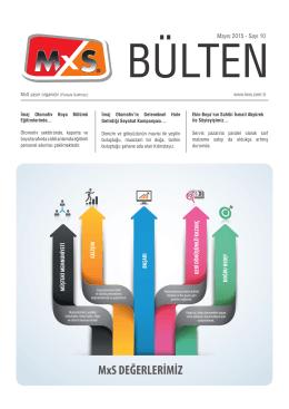 Mayıs 2015 - Sayı 10