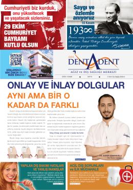 Ekim - Dentadent Ağız ve Diş Sağlığı Merkezi