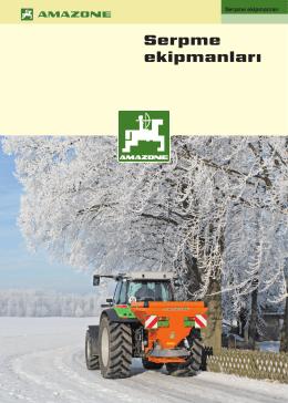 Amazone Tuz Serpme Makinesi Doküman