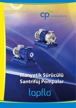CP Pumpen Manyetik Kaplinli Pompalar Katalogu