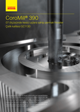 CoroMill® 390 - Sandvik Coromant