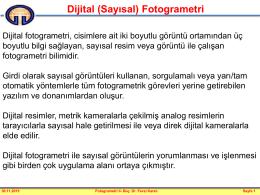 Dijital Fotogrametri