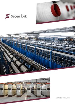 İndirmek için tıklayın - Seçen İplik ve Büküm Tekstil Ltd. Şti. / BURSA