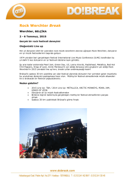 Rock Werchter Break