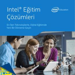 Intel® Eğitim Çözümleri