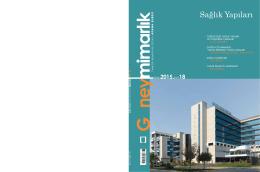 Güney Mimarlık Sayı 18 - Mimarlar Odası Adana Şubesi