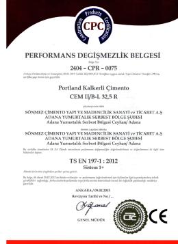 Portland Kalkerli pimento CEM IVB
