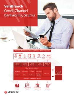 VeriBranch Omni-Channel Bankacılık Çözümü
