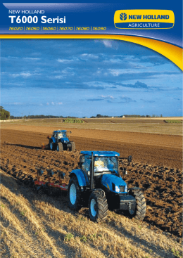 T6000 Serisi - New Holland