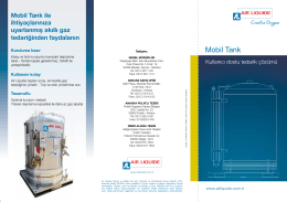Mobil Tank broşür