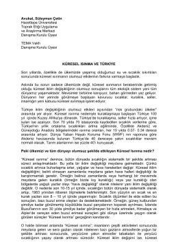 Makaleler - Hacettepe Üniversitesi Toprak Etiği Uygulama ve