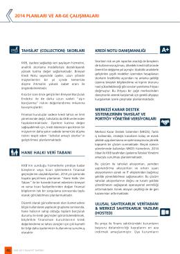 2014 planları ve ar-ge çalışmaları