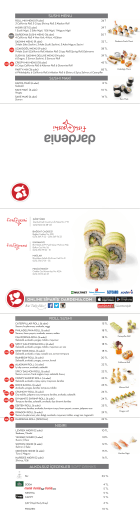 Fish&Sushi Menü Pdf
