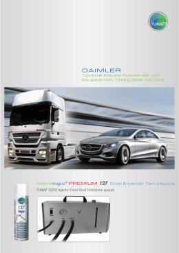 Daimler MP 127 Broşür