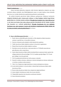 g.antep 13.icra müdürlüğü personel ve faaliyet raporu