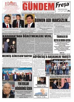 25 Kasım 2015 E-Gazete