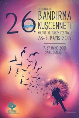 26. uluslararası bandırma kuşcenneti kültür ve turizm festivali