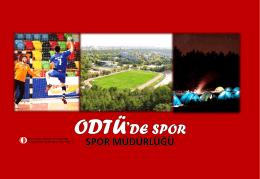 Misyonumuz - ODTÜ | Spor Müdürlüğü