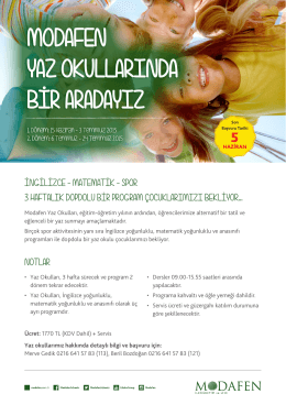 NOTLAR İNGİLİZCE - MATEMATİK - SPOR 3 HAFTALIK DOPDOLU