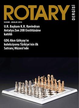 Kasım - Rotary 2440. Bölge